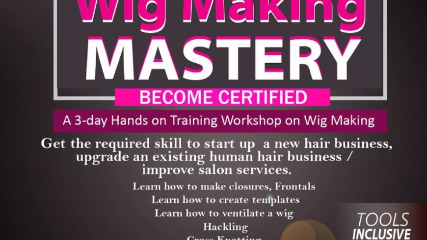 Wig Making Mastery Training Workshop